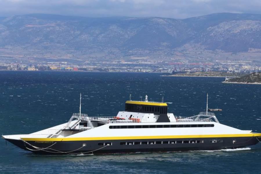 Ξενάγηση στο πλοίο Glykofilousa IV